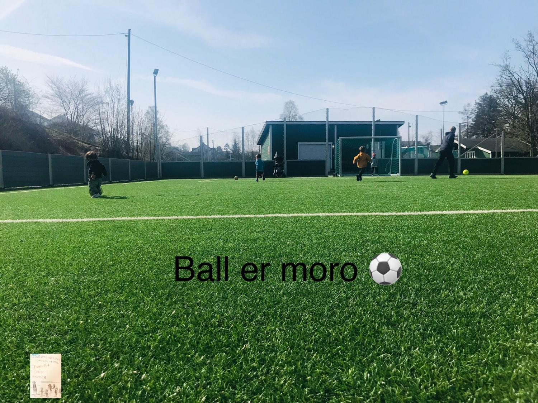 Ball er moro // påskekos @FruBever
