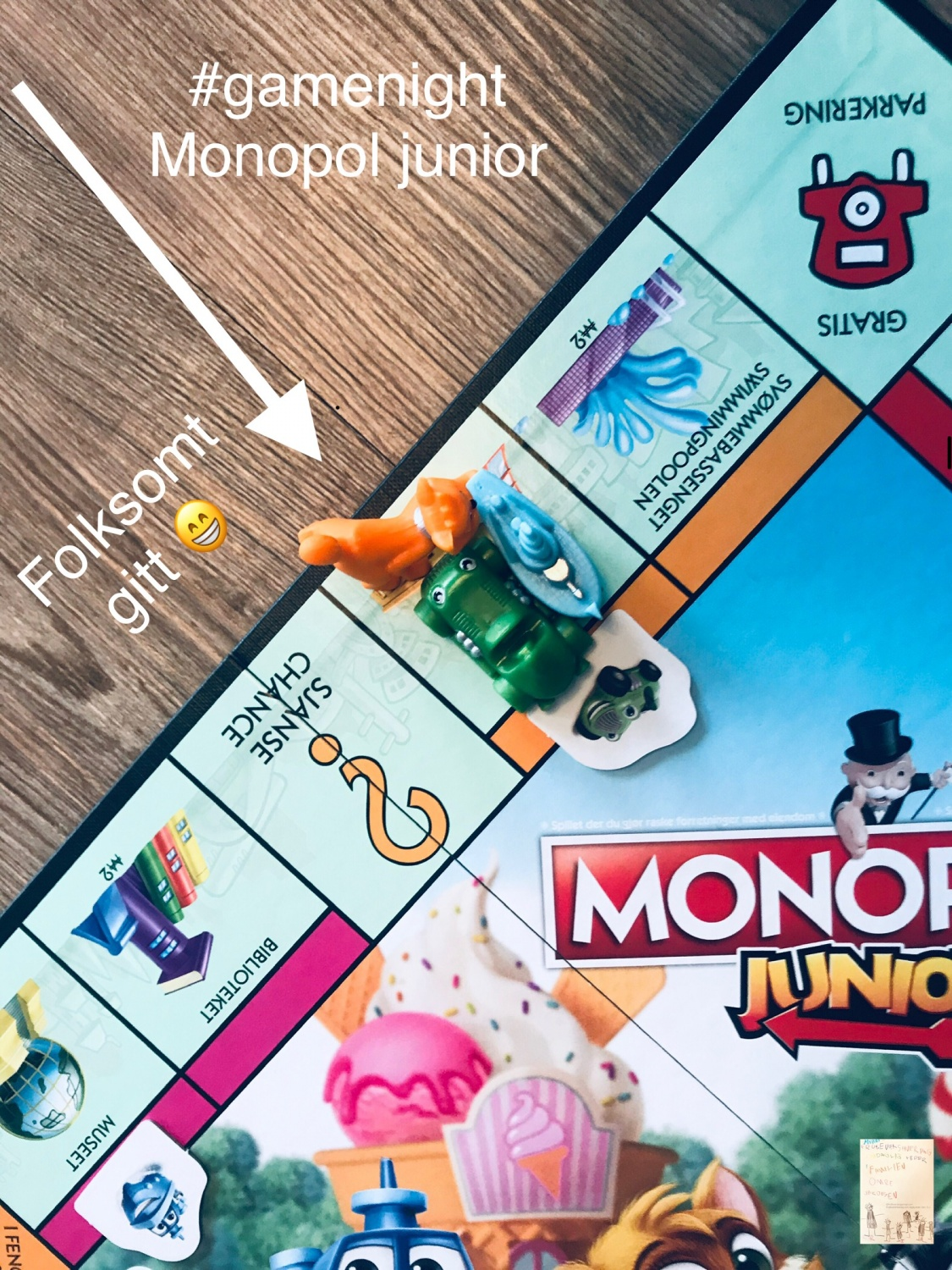 Monopol junior // game night @frubevershverdag