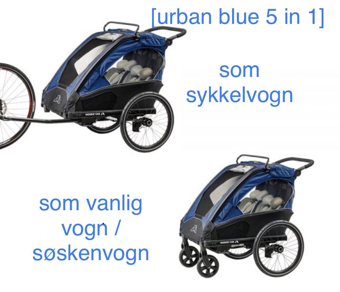 Nordic cab // urban blue 5 in 1 // sommerkroppen 2020