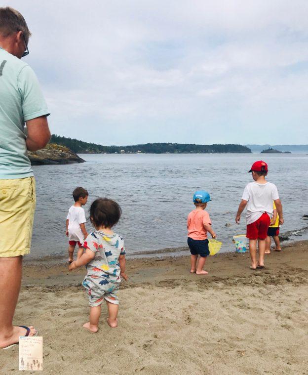 Stranden med barn - en drøm eller et mareritt? 🏖