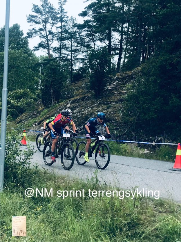 NM sprint terrengsykling // St Hansaften