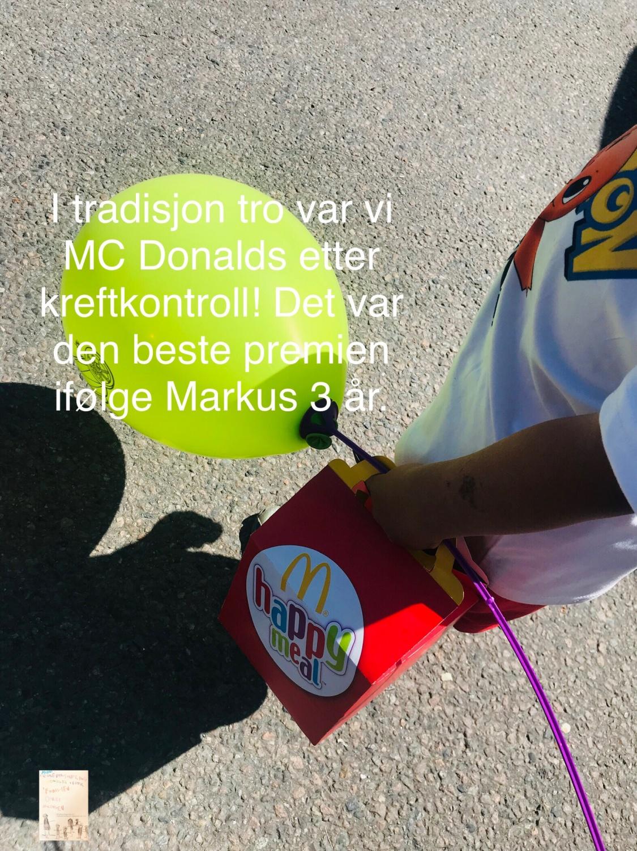 Markus // Nevroblastom kreftkontroll