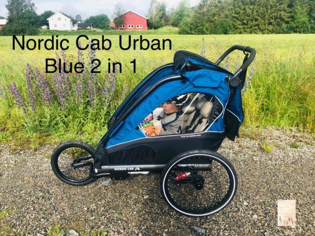 Nordic Cab Urban Blue 2 in 1 // motivasjon for 5 barnsmamma å begynne å løpe igjen!