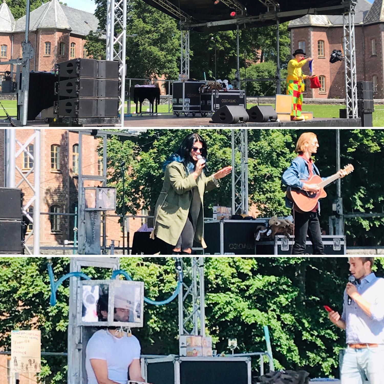 Sommerfest @Rikshospitalet med Barnekreftforeningen // Lyn og Torden