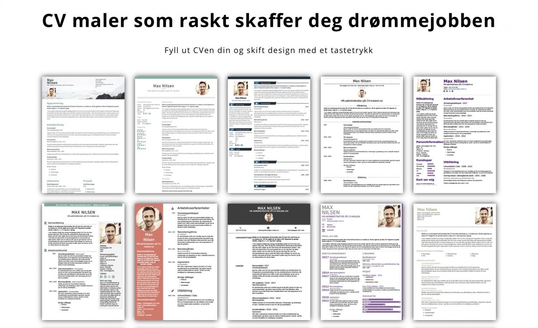 CV malen.no // slik kaprer du drømmejobben med oppdater CV