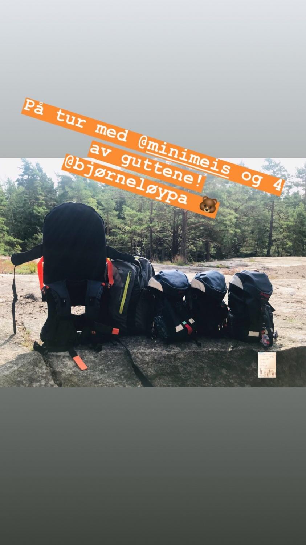 Bjørneløypa Fredrikstad // natursti // sommer