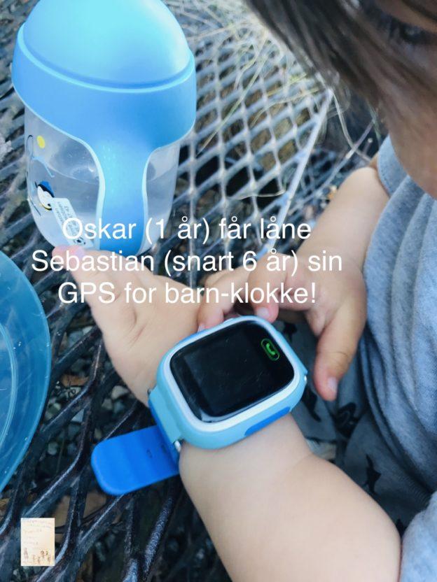 Vinn GPS for barn sin telefonklokke // Sebatstian6 år // FruBeversHverdag