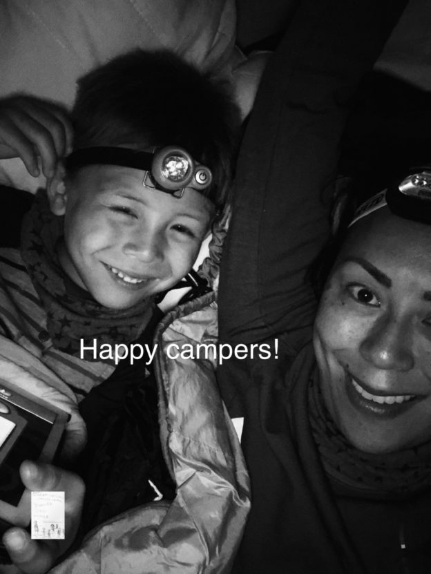 Happy campers i hengekøye! #Nattinaturen