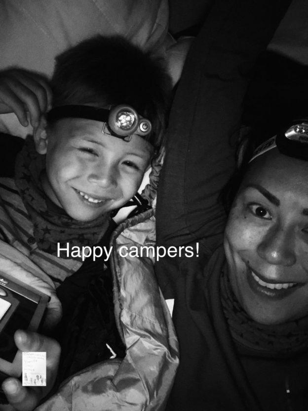 Happy campers i hengekøye! #Nattinaturen