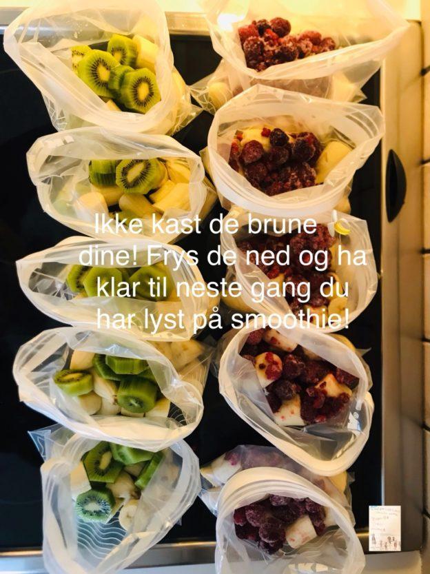 #spisoppmatendin Ikke kast de brune bananene 🍌