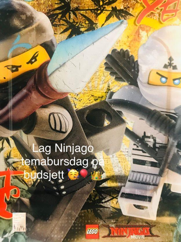 DIY Ninjago temabursdag @FruBevershverdag