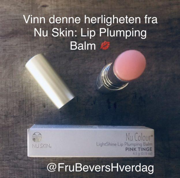 Nu skin Lip Plumping Balm // give away @FruBeversHverdag