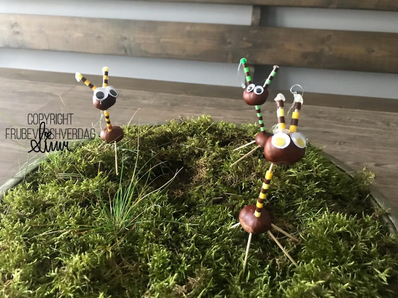 DIY høstverksted med kastanjer @FruBeversHverdag