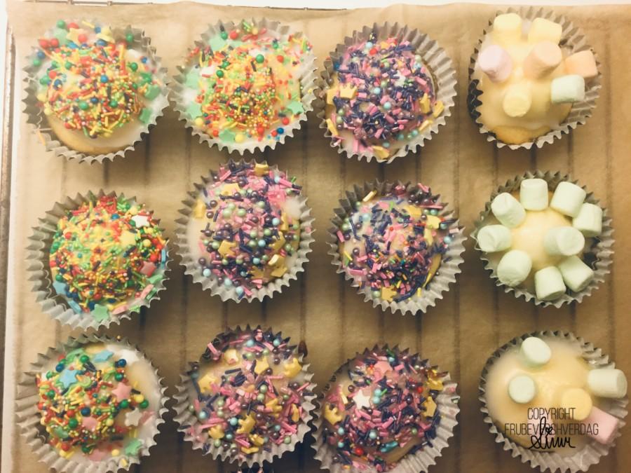 Vi skal også bake blant annet muffins sammen en dag denne uken!