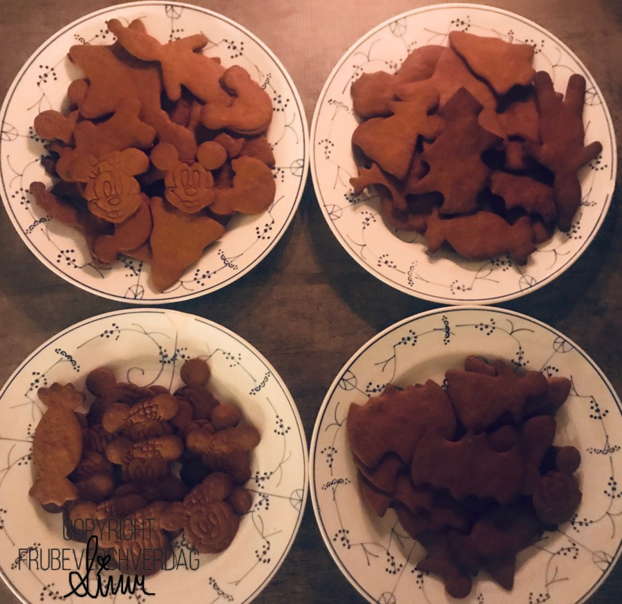 Pepperkakebaking med nye former @Fruabevershverdag // november