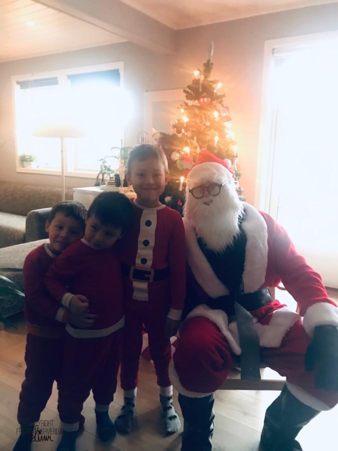 Mamma har julenissen på speed dial @FruBevershverdag