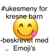 Ukesmeny for kresne barn 9//2020 @FruBeversHverdag