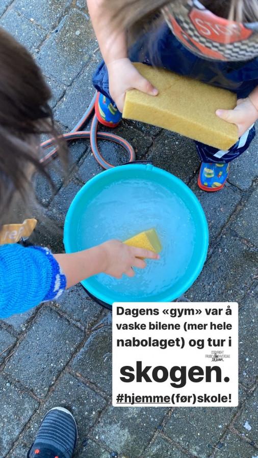 Hjemmeførskole - Lock Down Norge @FruBeversHverdag