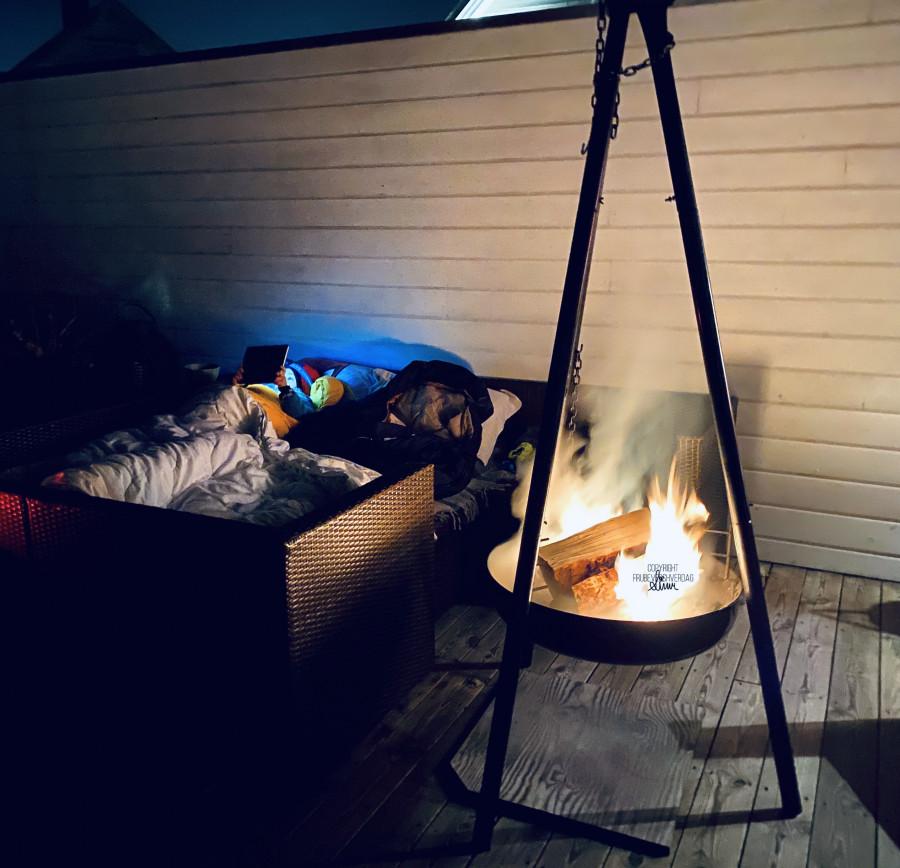 En natt i naturen ... Happy campers @FruBeversHverdag