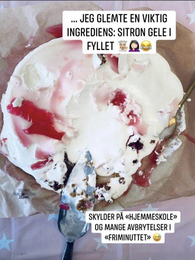 Mislykket ostekake @FruBevershverdag