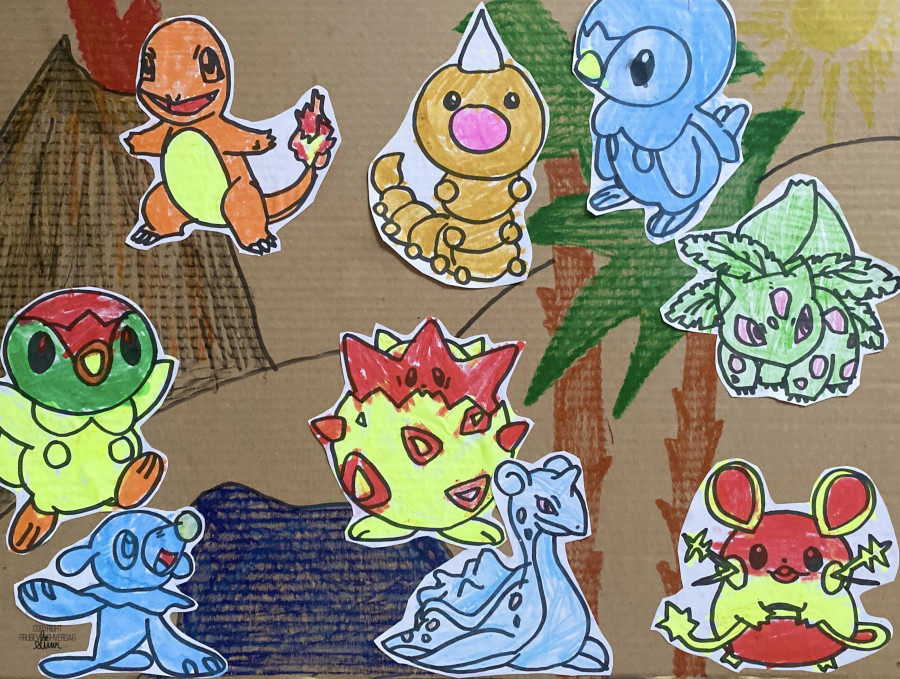 DIY Pokémon plakat @FruBeverhverdag