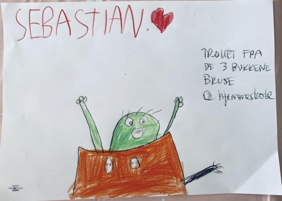 Illustrasjon fra Bukkene Brusepå lydbok @hjemmeskole / FruBevershverdag