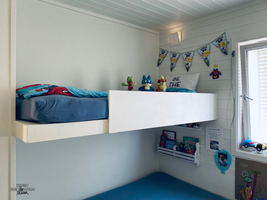DIY hjemmesnekret seng ferdig 🔨 [FruBeversHverdag]