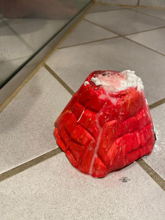 Vulkan eksperiment i dusjen @FruBeversHverdag