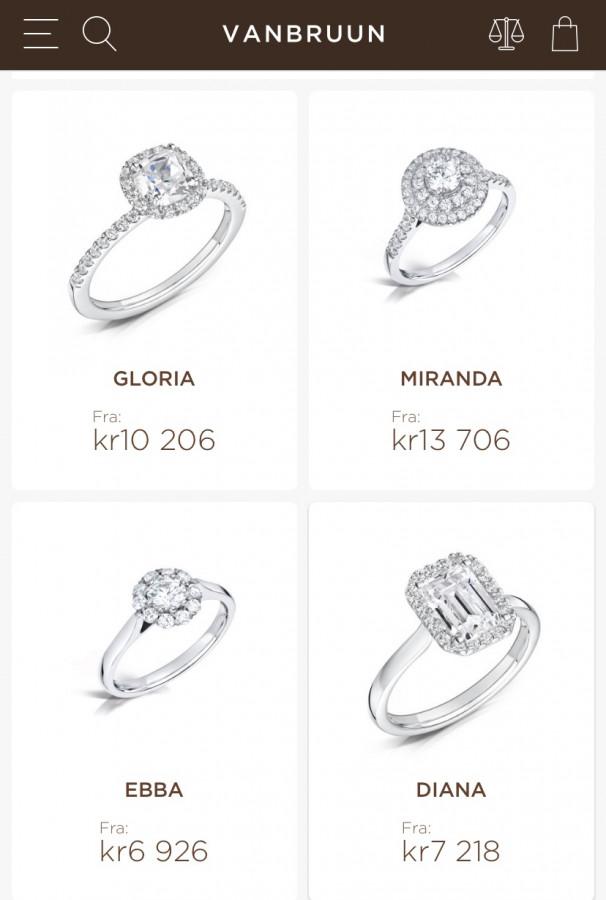 Vanbruun forlovelsringer // ulike typer å velge mellom 💍