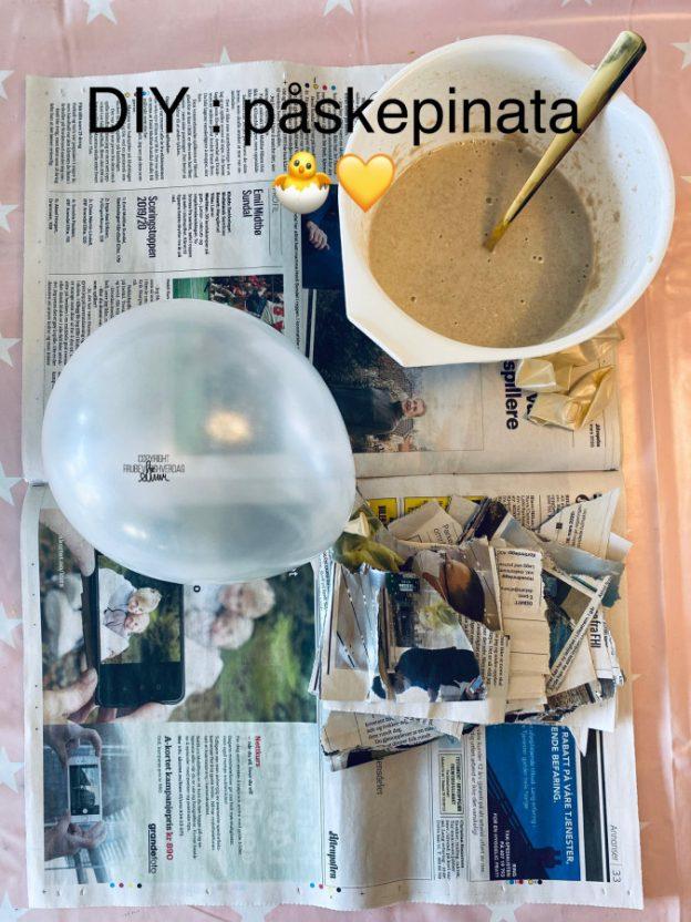 DIY påske Pinata [@FruBeversHverdag]