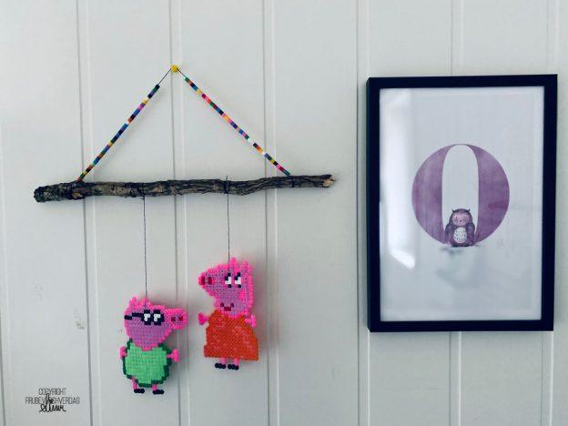 DIY perle dekor til barnerommet 🤩 [FruBeversHverdag]