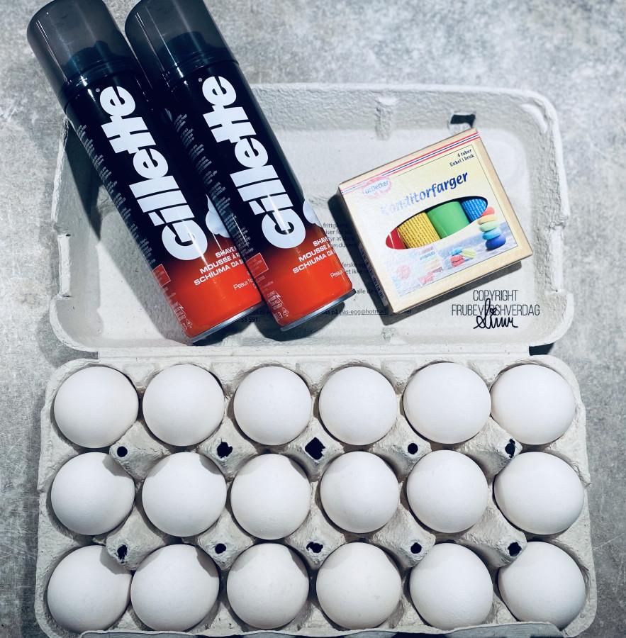 Wipped eggs til påskefrokosten 🥚