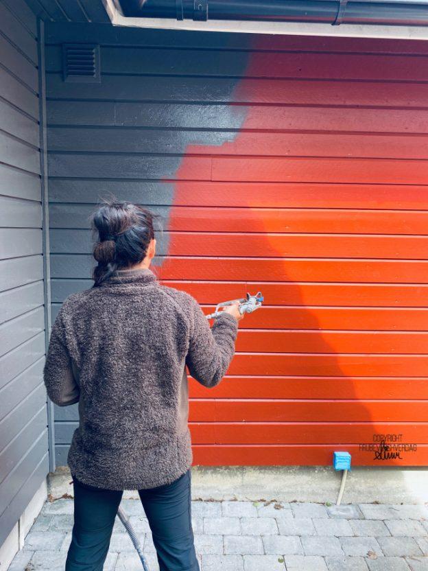 Spray malingen på huset! [FruBeversHverdag]