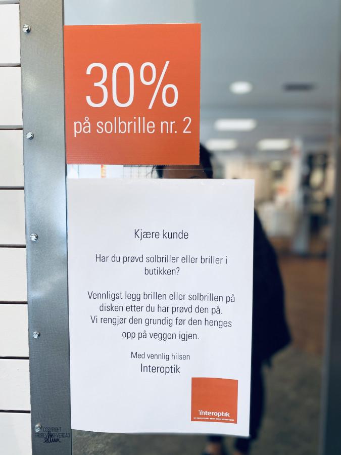 Solbrillejakt @Interoptik Evensen & Rønning