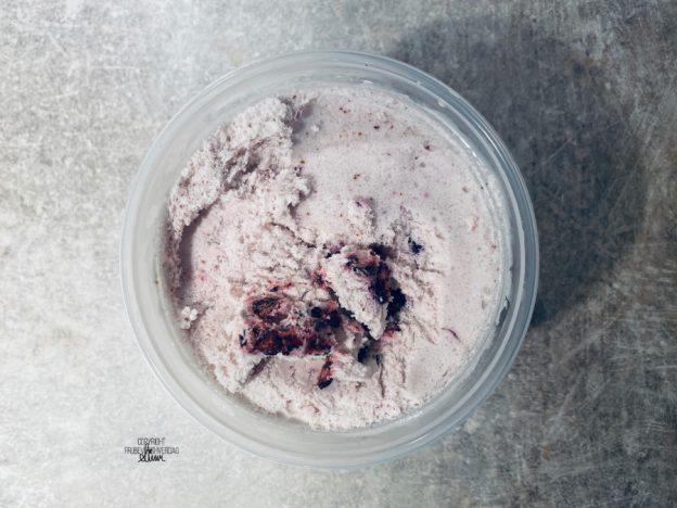 Hjemmelaget blåbær is! [FruBeversHverdag]