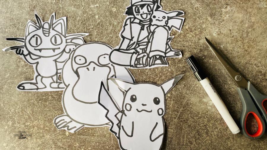 DIY Pokémon temabursdag 🎈 [FruBeversHverdag]