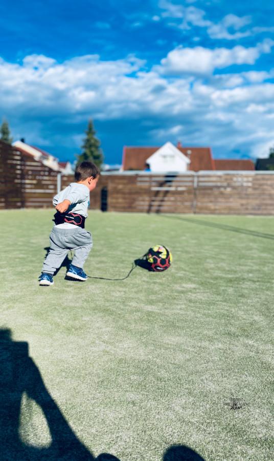 Tidlig krøkes om fotballstjerne skal bli ⚽️ FruBeversHverdag
