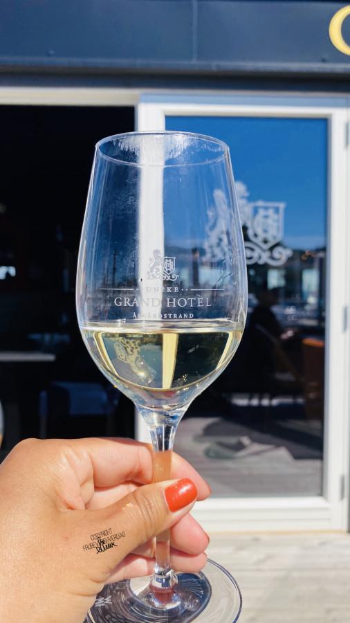 Et velfortjent glass. Halvveis! 🚲FruBeversHverdag