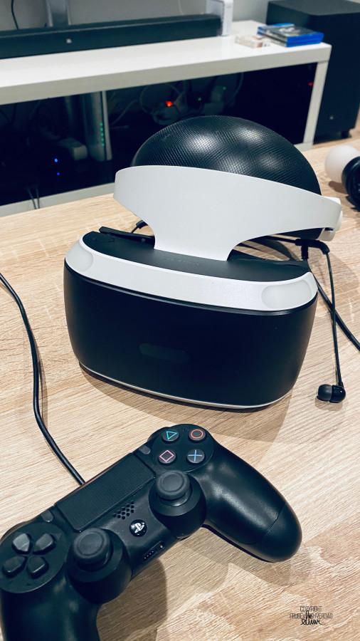 PlayStation med VR briller [FruBeversHverdag]