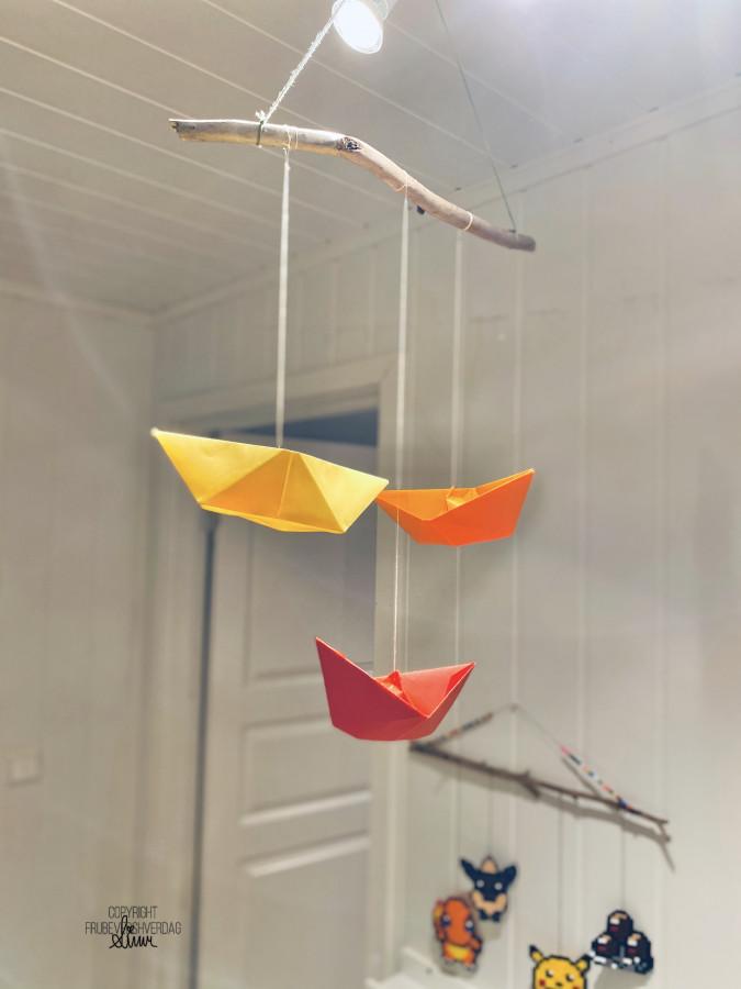 Origami med 5 åringen! [FruBeversHverdag]