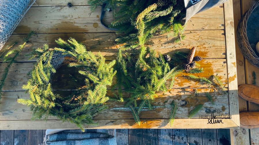 Lag din egen julekrans 🌲 [FruBeversHverdag]