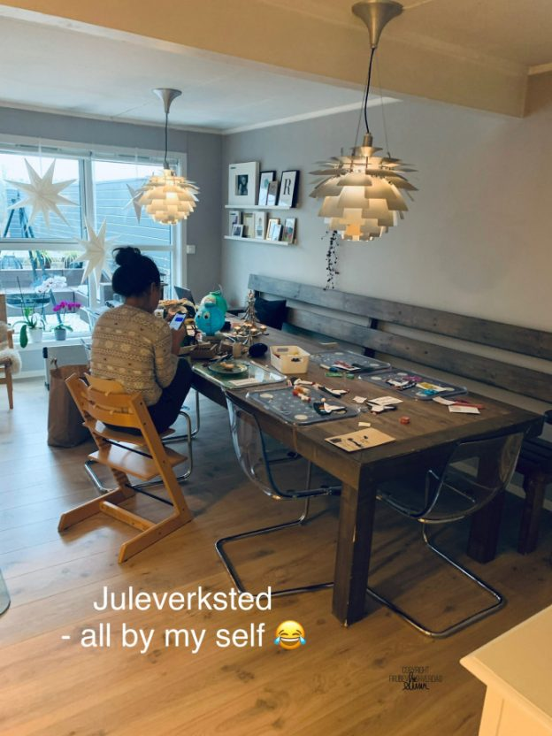 Juleverksted - all by my self?! [FruBeversHverdag]