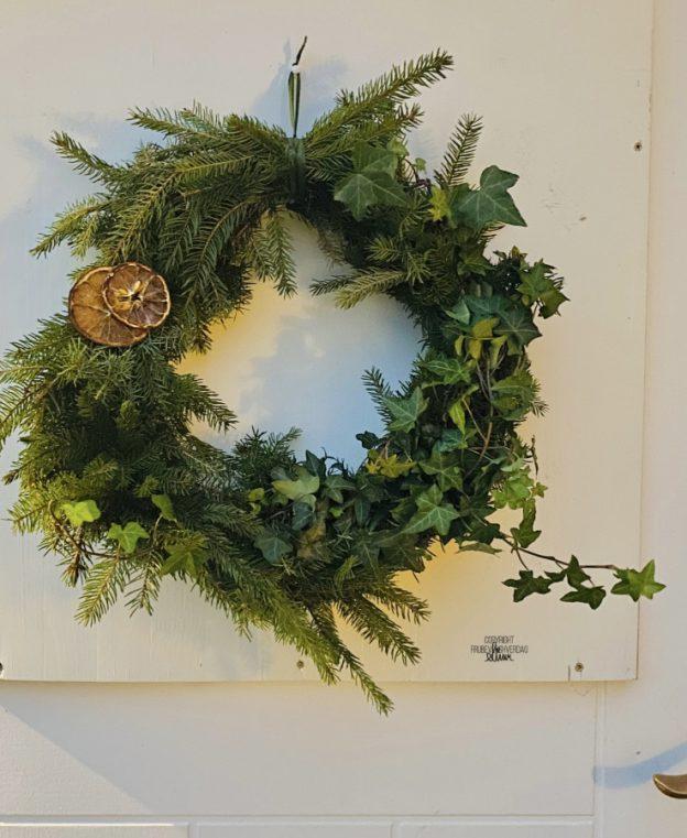 DIY julekrans - FruBeversHverdag