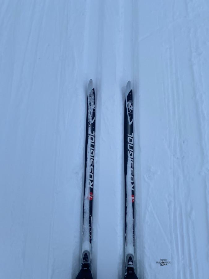 Årets første skitur ⛷ [FruBeversHverdag]