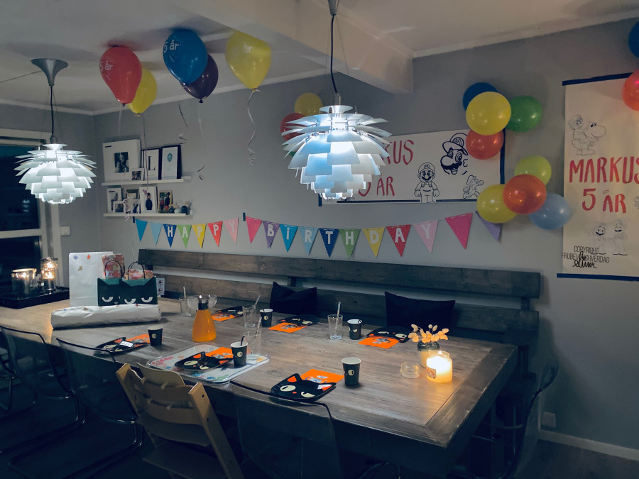 Happy Birthday Markus 🎈 [FruBeversHverdag]