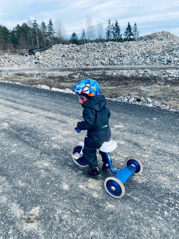 Vinterferie og sykkeltur! [FruBevershverdag]