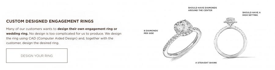 Vanbruun - custom design forlovelsesring 💍