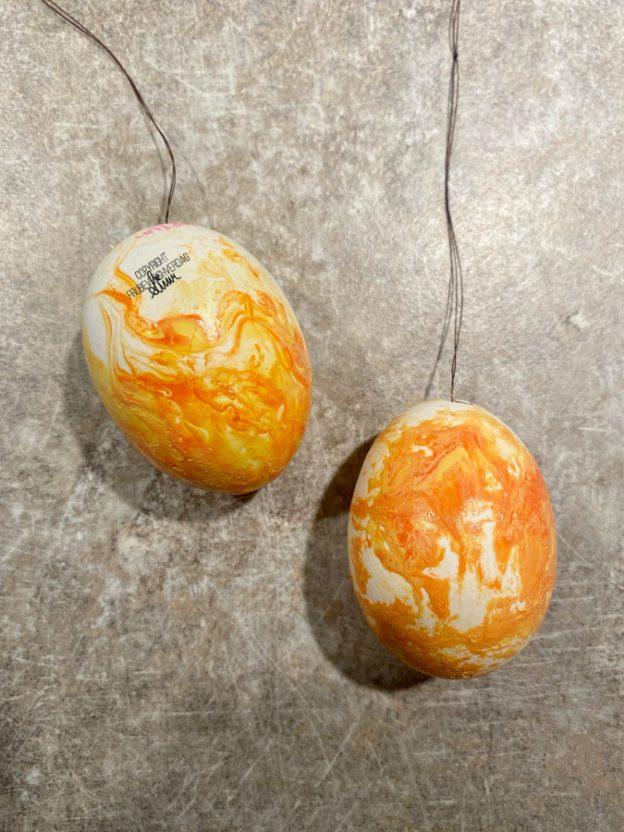 Hydrodipping egg - diy påskepynt 🐥 [FruBeversHverdag]