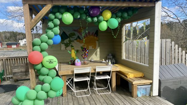 Kohort-bursdag på terrassen! FruBeversHverdag