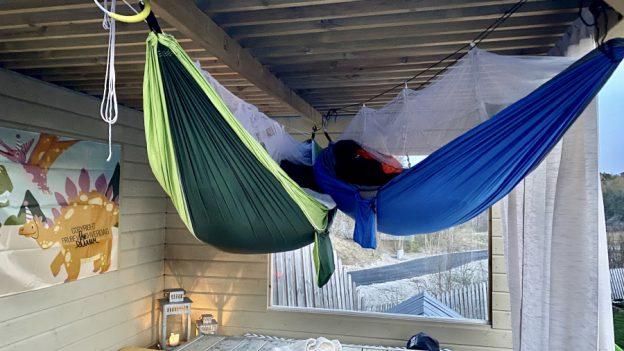 Hengekøye - beste måten å sove ute på ⛺️ [FruBeversHverdag]